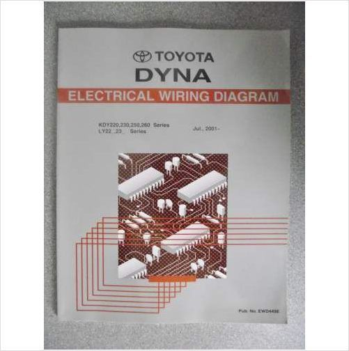 Toyota Dyna Electrical Wiring Diagram Manual 2001 Ewd449e