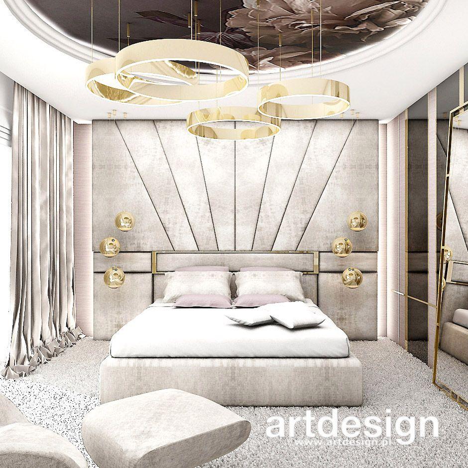 D Interiors Mała Sypialnia: Delikatna, Subtelna, Kobieca, Pastelowa, Elegancka