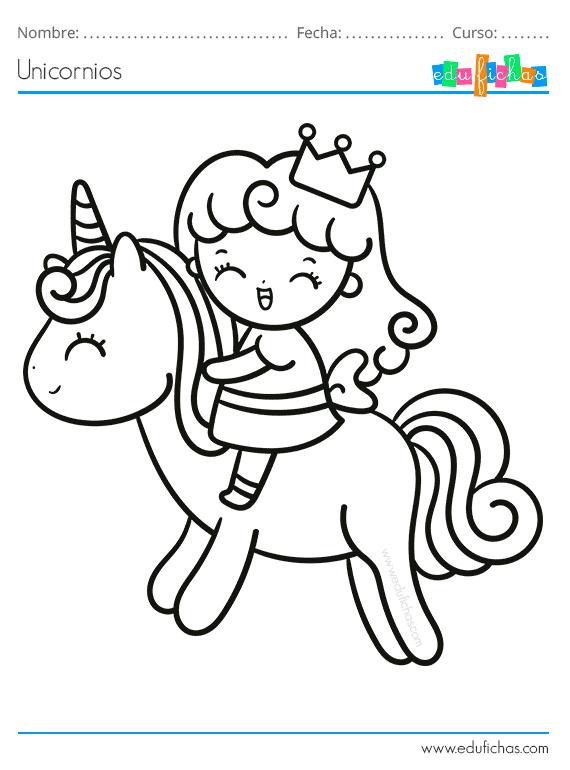 Dibujos Para Colorear De Unicornios Descargar Libro Para Colorear Libros Para Colorear Imagenes Para Colorear Ninos Unicornio Colorear