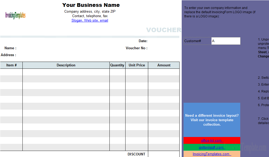 Free Template Receipt Form  Google Search  Forms