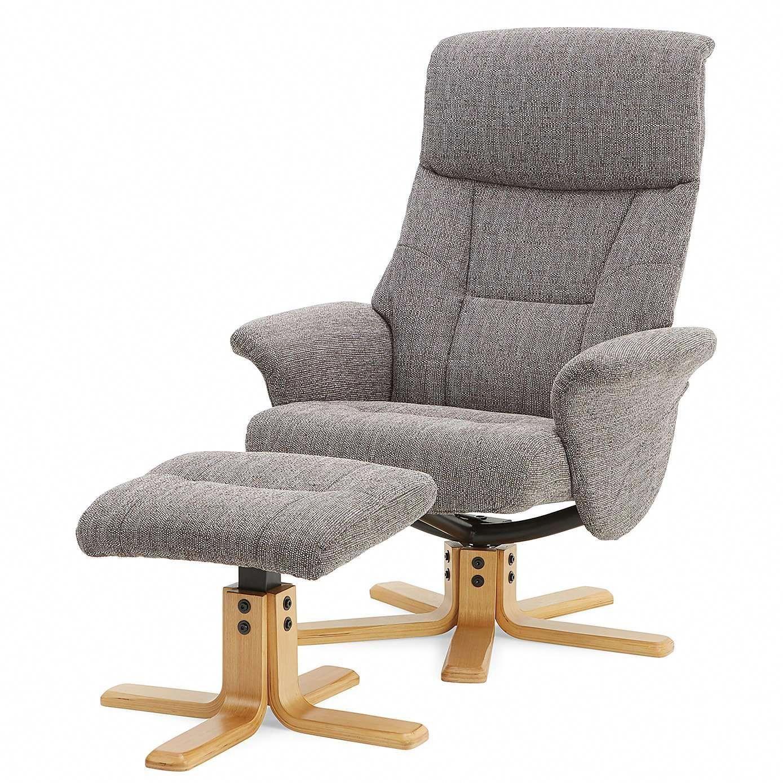 finest selection 9fa32 5cd9a Whitham Swivel Recliner Chair - Grey   Dunelm #reclinerchair ...