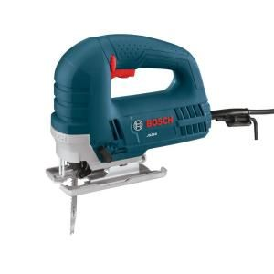 Bosch 6 amp corded variable speed top handle jig saw with carrying bag bosch top handle jigsaw includes 6 amp top handle jig saw anti splinter insert bevel wrench carrying bag product features toolless blade change system keyboard keysfo Choice Image