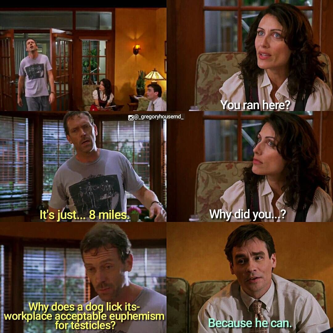 Love Finds You Quote: This Was A Brief Time When House Was Better...