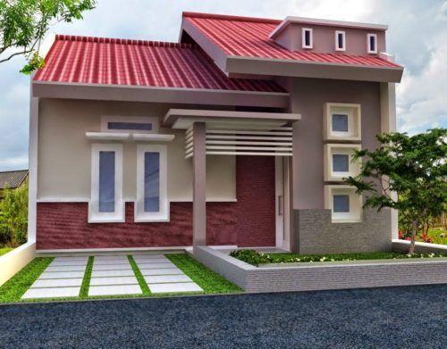 Warna Cat Depan Rumah Yang Bagus Dengan Gambar Rumah Minimalis