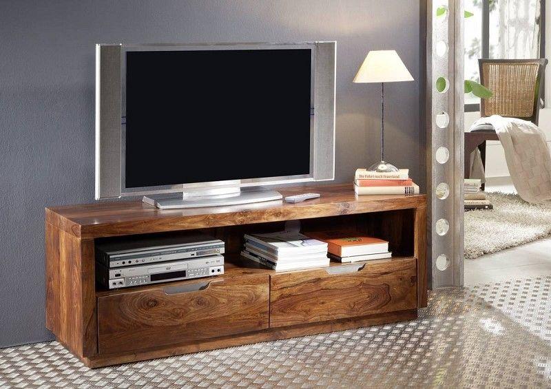Palisander Holz massiv TV-Board Sheesham Möbel DUKE #122 Jetzt