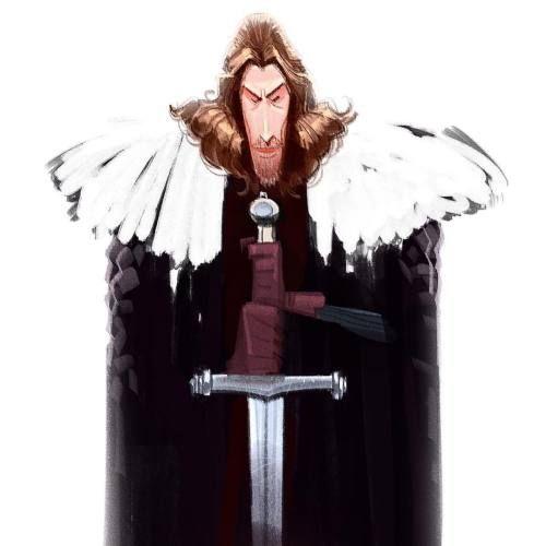 Awespme Character Inspiration: Good Ol' Ned #gameofthrones #postworkwinddown