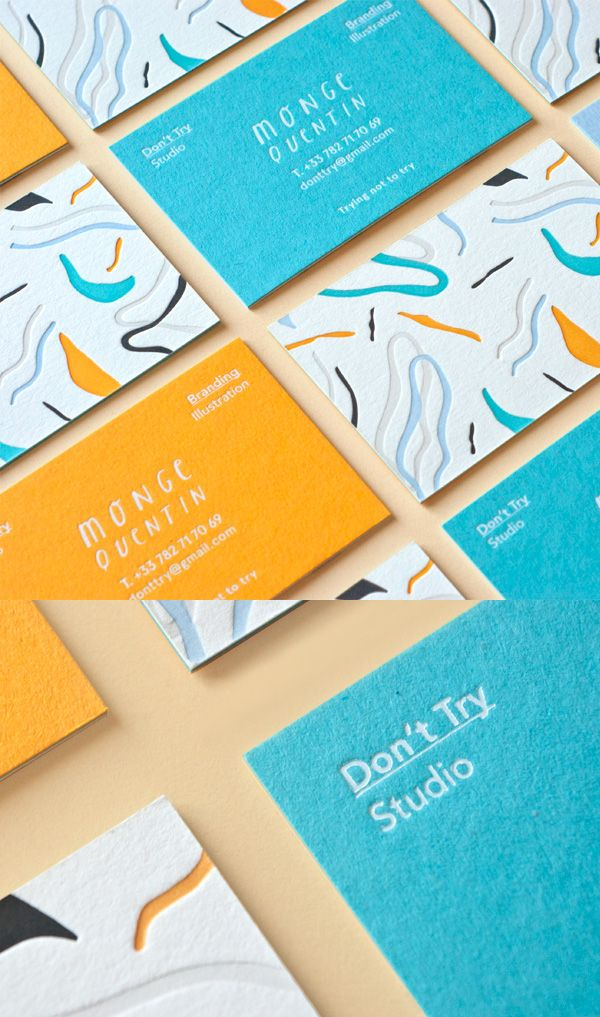Set of colorful business cards business cards design pinterest set of colorful business cards colourmoves