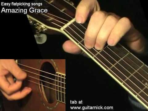 amazing grace flatpicking guitar lesson tab by guitarnick youtube guitar in 2019 blues. Black Bedroom Furniture Sets. Home Design Ideas