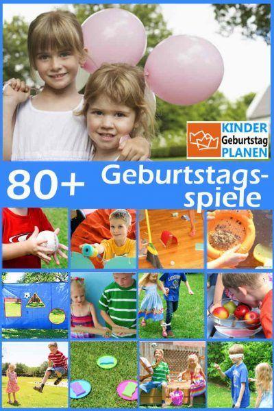 80+ beliebte Kindergeburtstag Spiele