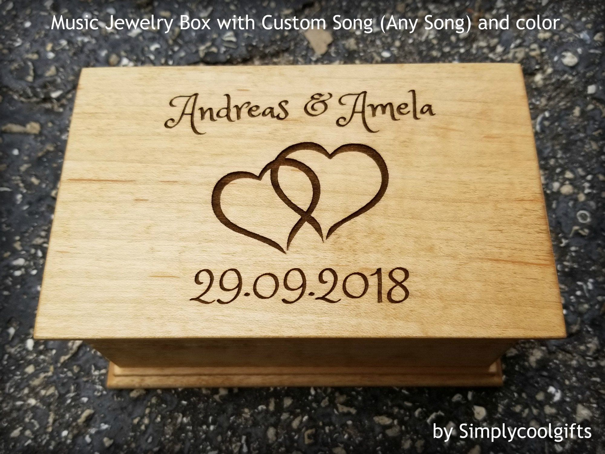 32++ Jewelry box with custom song information