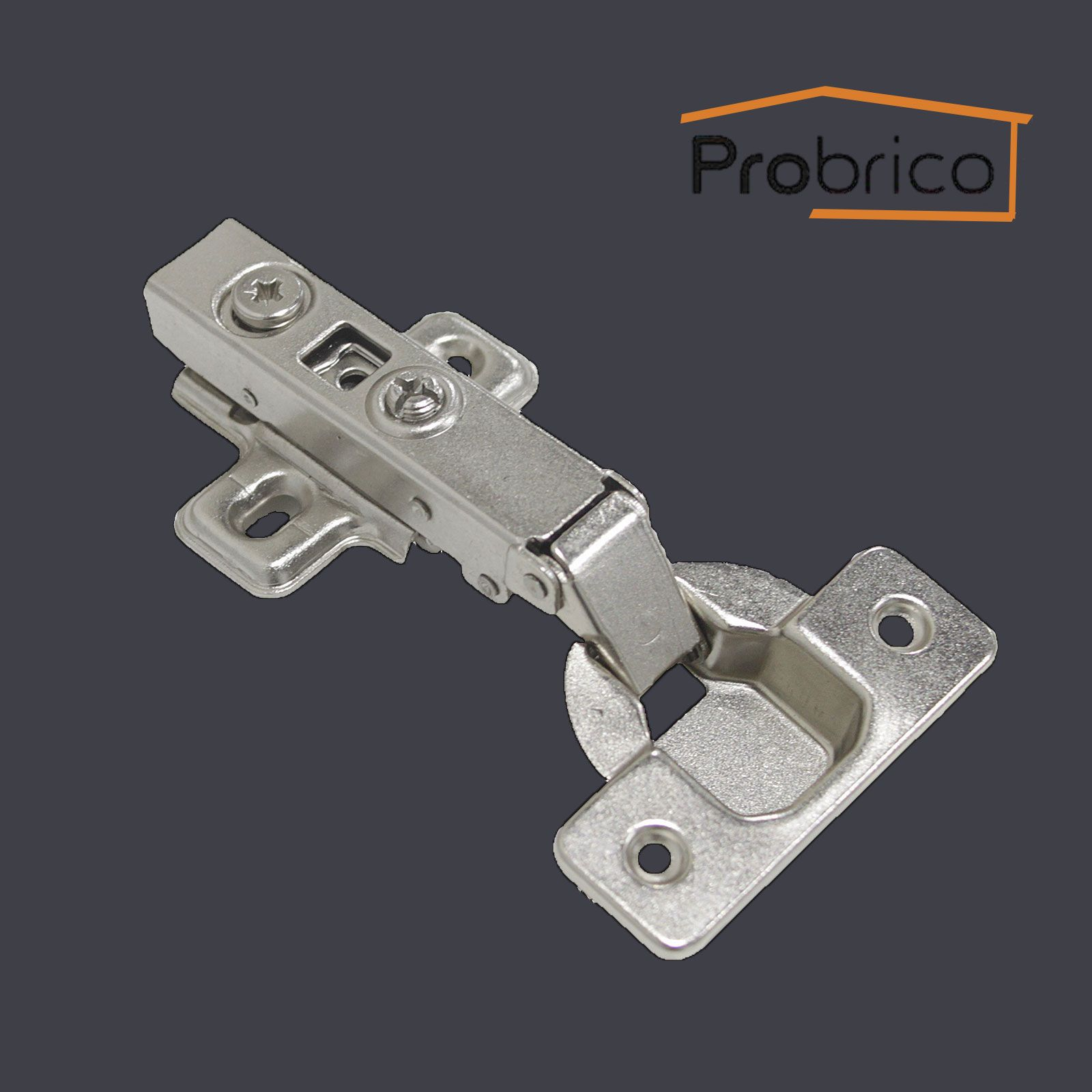 #Probrico Soft Close Cabinet Hinges Full Overlay 105 Degree Face Frame  Mounting Cabinet Door Hinges