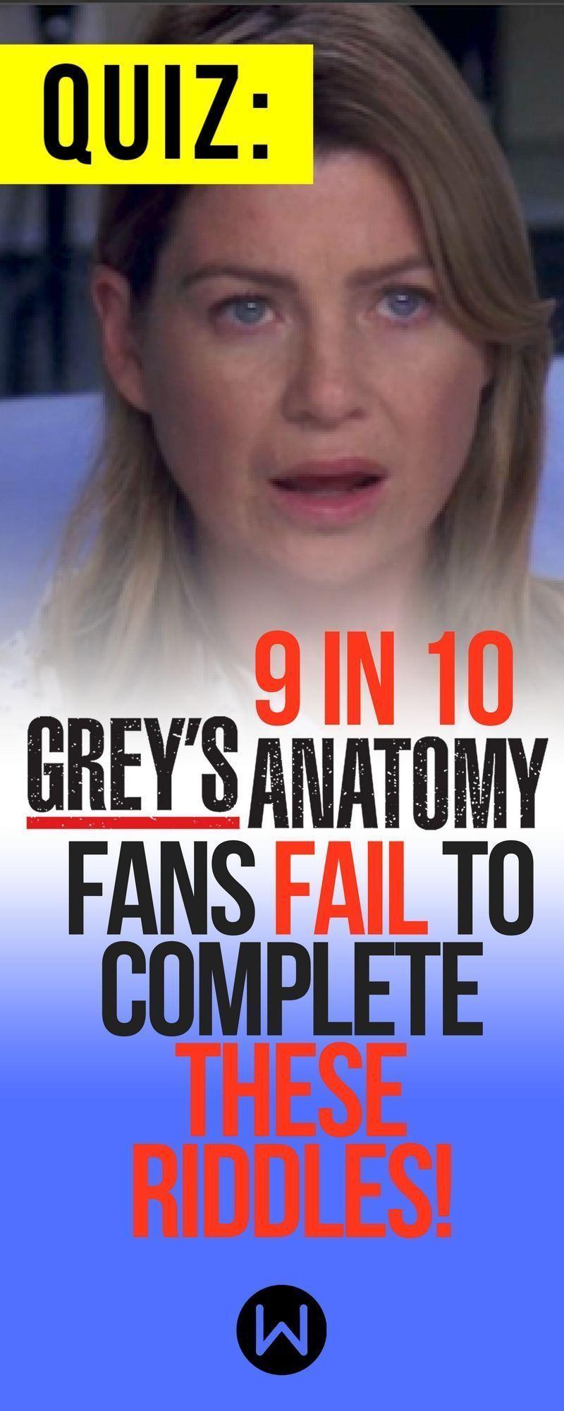 Greys Quiz Ga Trivia Ga Quiz Meredith Grey Shonda Rhimes Shondaland Greys Anatomy Test Buzzfeed Quizzes Playbuzz Quiz