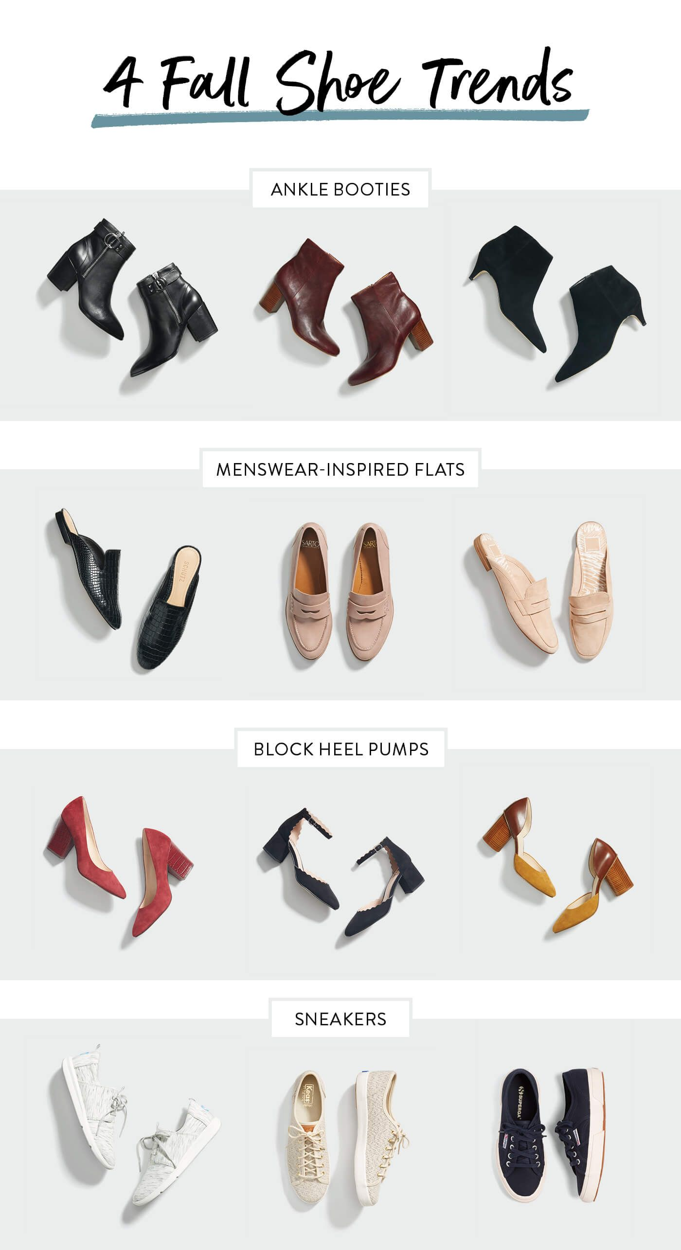 Our Favorite Fall Shoe Trends This Year #fallshoes