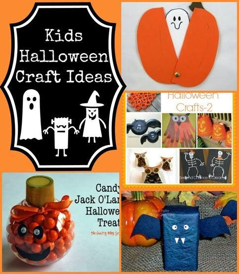 Halloween Kids Craft Ideas Craft, Halloween ideas and Holidays - halloween kids craft ideas
