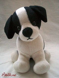 This easy-to-follow pattern includes one PDF file with detailed instructions on how to crochet and assemble all the parts to make Jed the Puppy