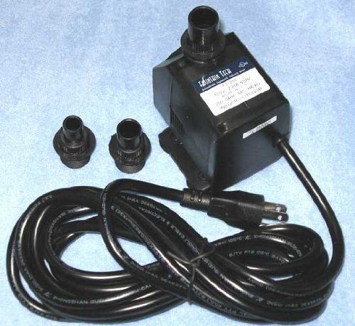 Fountain Tech 250gph 120v Submersible Pond Or Fountain Pump Ft 250 Ft 250l Pp 399 24 95 Reliable And Ultra Quiet Mag Drive Submersible Pond Or Fountain Wat