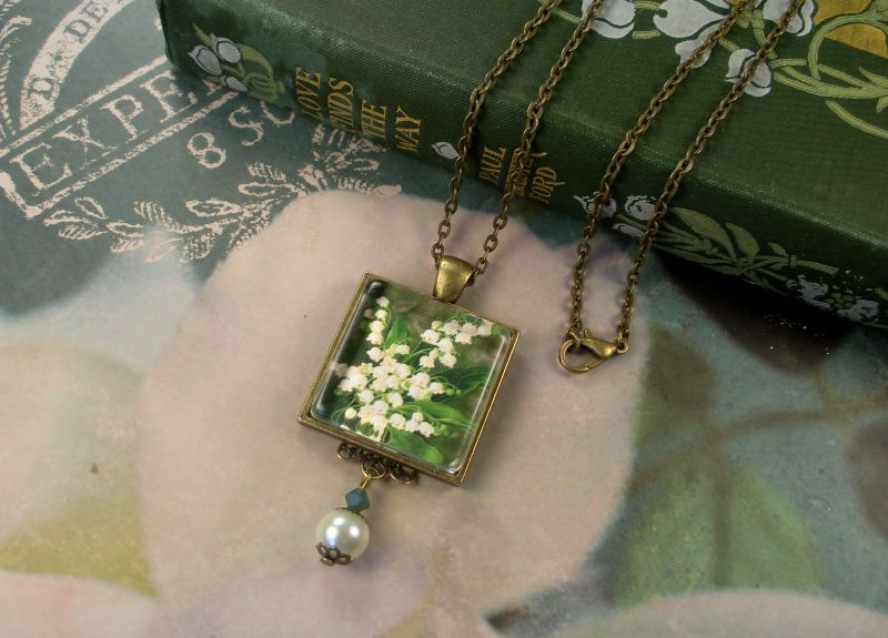 "Lily of the valley birthday flowers | Details about LILY OF THE VALLEY MAY BIRTHDAY FLOWER ""VINTAGE CHARM ..."