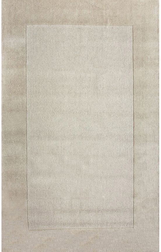Rugs Usa Tuscan Woven Solid Border Cream Rug For The Dining Room