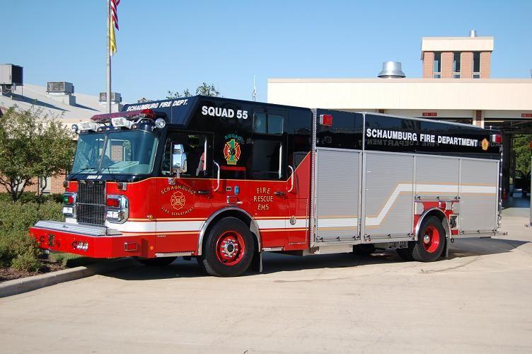 Schaumburg, IL FD 2006 Spartan/Rosenbauer 1250/500 Heavy