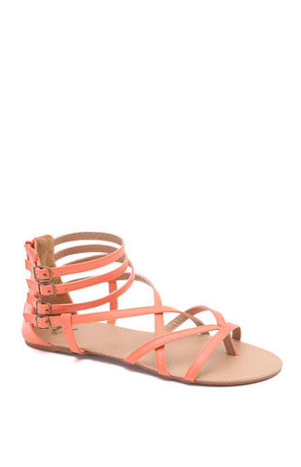 d2c1a0f715c8 LA Hearts Super Strappy Gladiator Sandals at PacSun.com