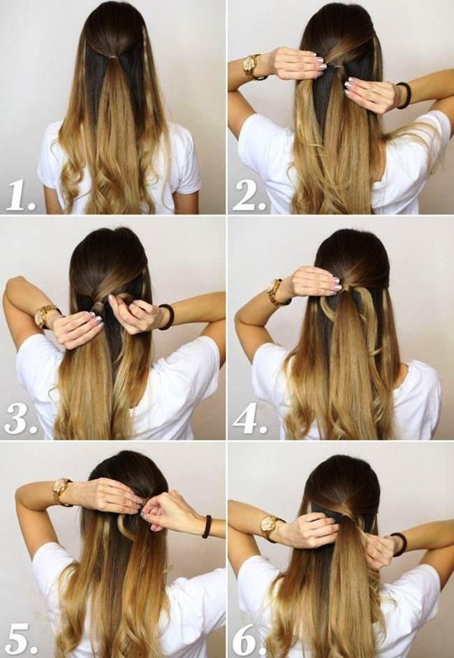 Simple Party Hairstyles For Long Hair Tutorials Step By Step | Party ...