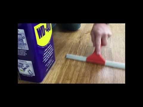 Squeeeeek No More For Wood Floors Demonstration Youtube Squeaky Floors Flooring Wd 40