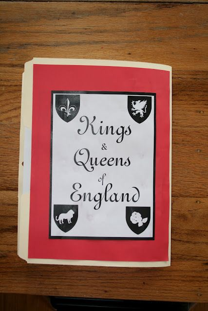 Kings And Queens Of England Lapbook Queen Of England Lapbook