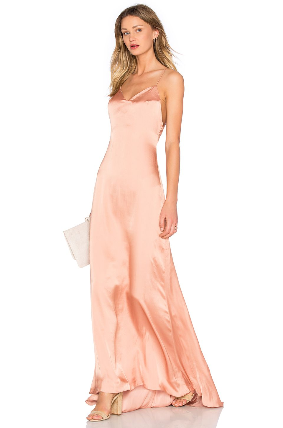 519f9109deb31 Lovers + Friends x REVOLVE The Slip Dress in Nude | Wants and needs ...
