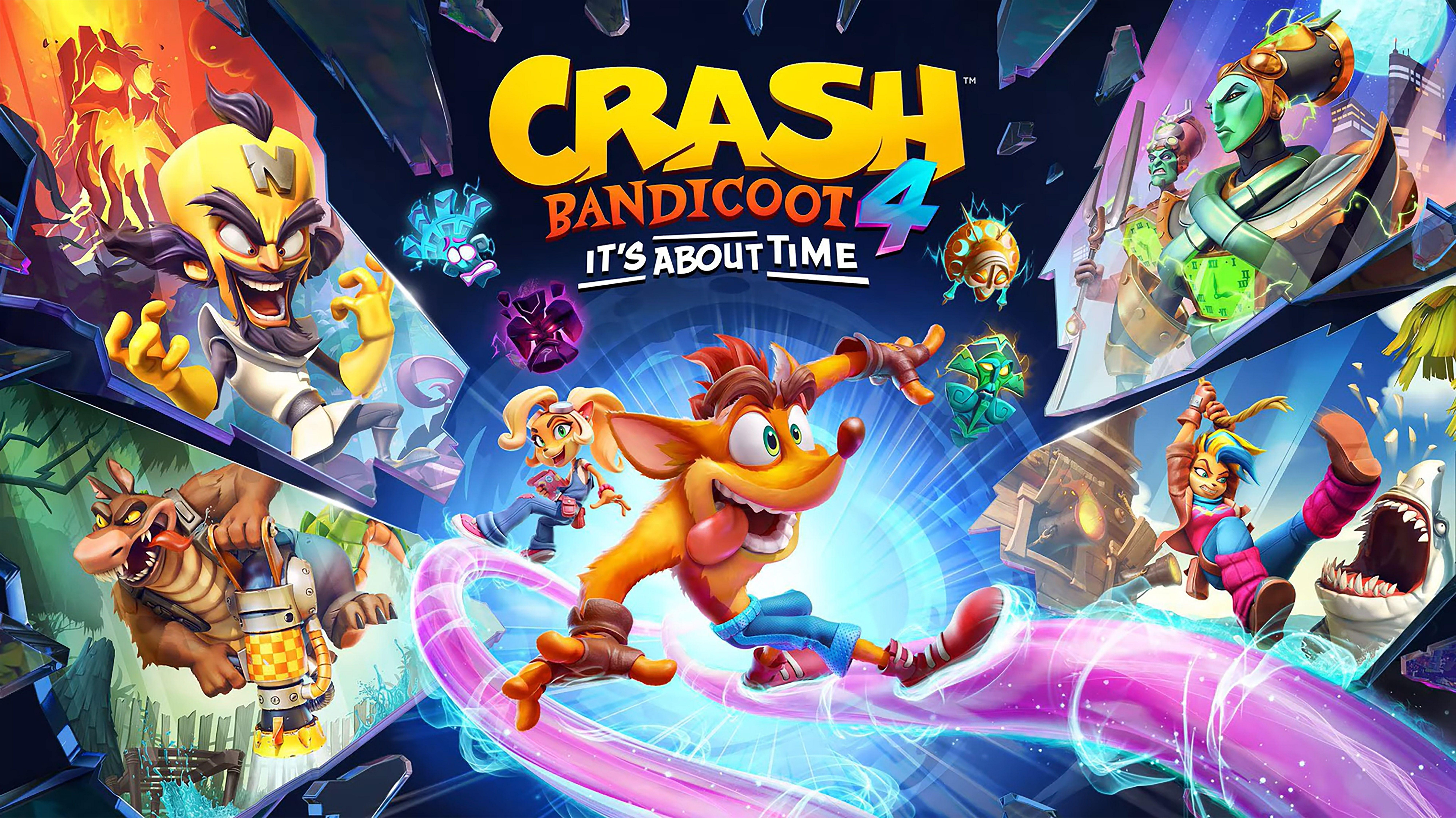 Crash Bandicoot 4 Comes On Pc Ps5 Xsx And Switch In 2021 Crash Bandicoot Characters Crash Bandicoot Crash Bandicoot 4