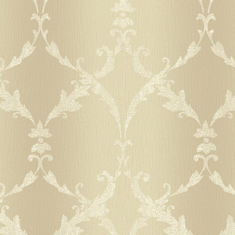 Impressions Gated 27 X 27 Quot Scroll Wallpaper Embossed