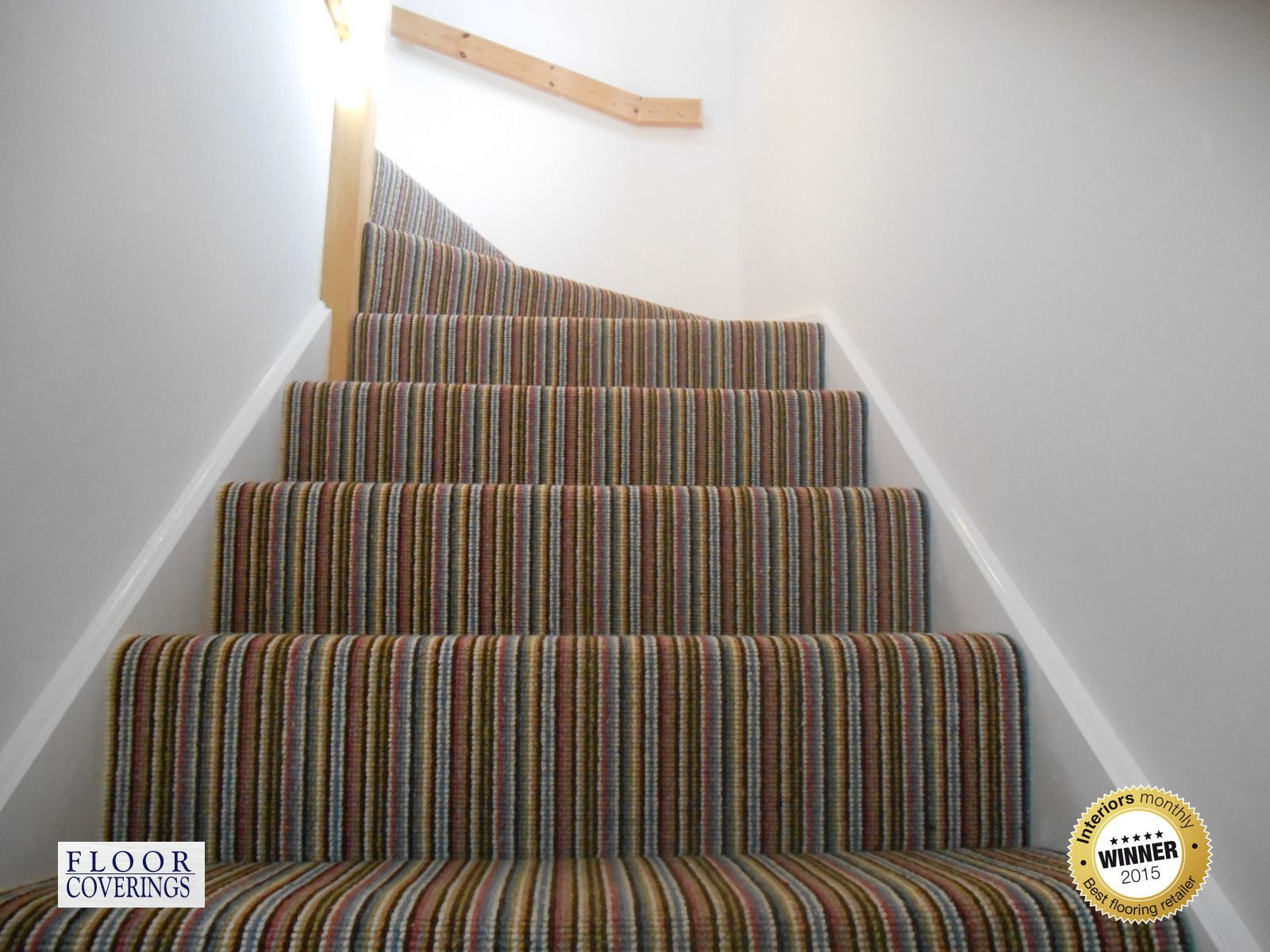 Mississippi Stripe Carpet Stairs Stairs Hall Carpet