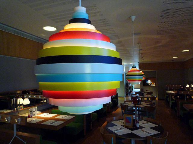Lampshade At Canteen Funky Lamp Shades Lamp Shades Lampshades
