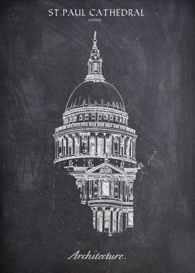 ST. PAUL_CHALK COLLECTION | Displate thumbnail