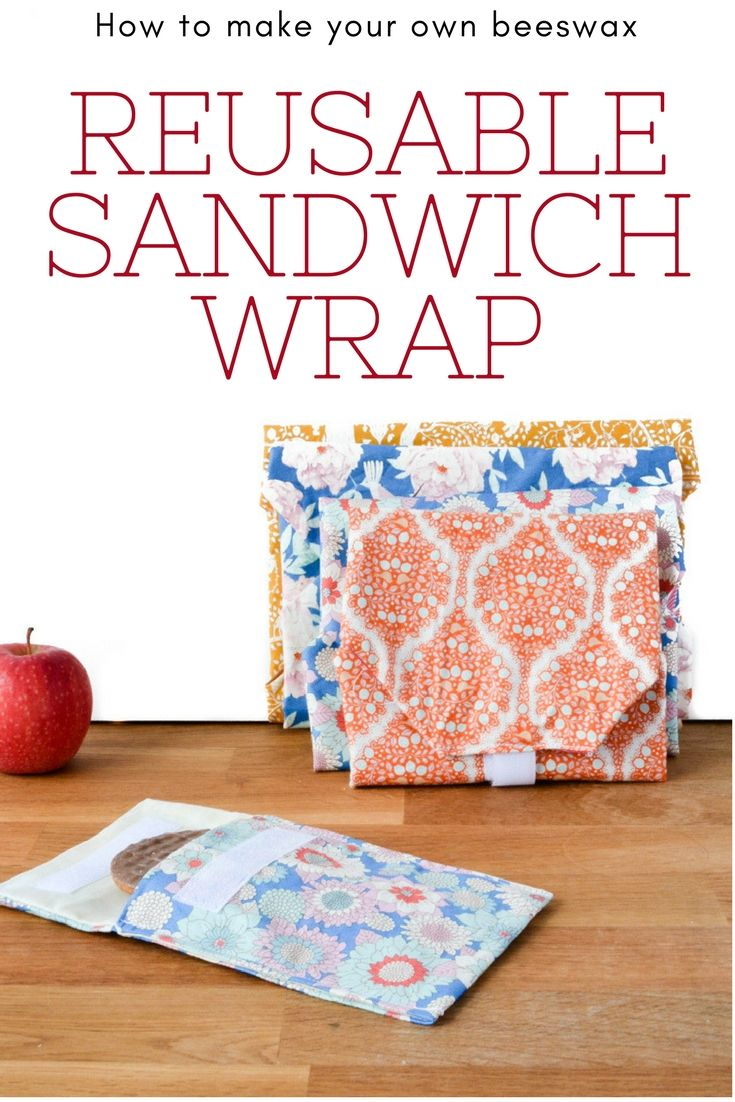 How to make a reusable sandwich wrap plus giveaway