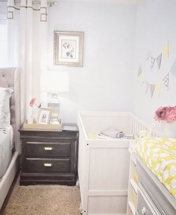 Crib In The Master Bedroom Avec Images Decoration Chambre