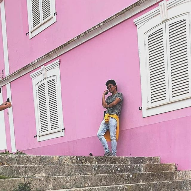 Pink is not just for her . . .. #travel #trip #journey #wanderlust #backpacker #incredible...  Pink is not just for her . . .. #travel #trip #journey #wanderlust #backpacker #incredible #amazing #architect #picoftheday #instapic #gay #l4l #f4f #pride #proud #love #gaycouples #diary #peruvian #espana #amor #architecture #latin #igers #aveiro #portugal #europe #shoot #model #barbie