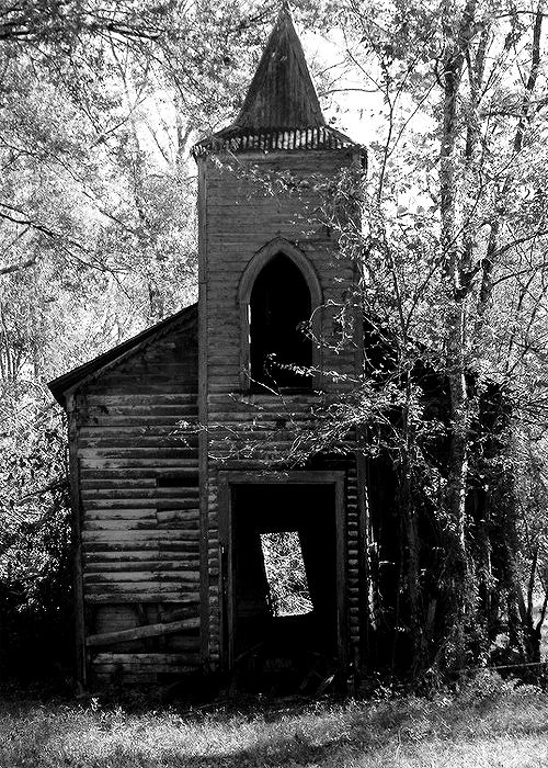 Abandoned Church by salemcat Taken in Chackbay Louisiana. Don't remove the credits, please