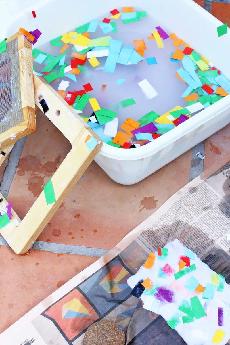 Wundervoll Kindergarten Ideen   Papier Selber Machen