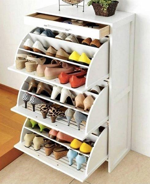 Lujo Zapato Muebles De Sistemas De Almacenamiento Componente ...