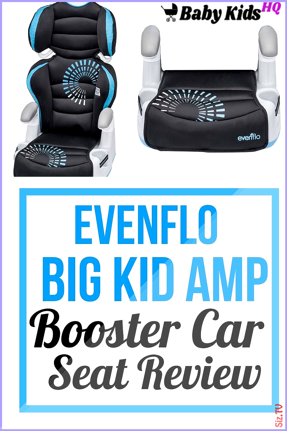 Evenflo Big Kid Amp Booster Car Seat Review in 2020 Car