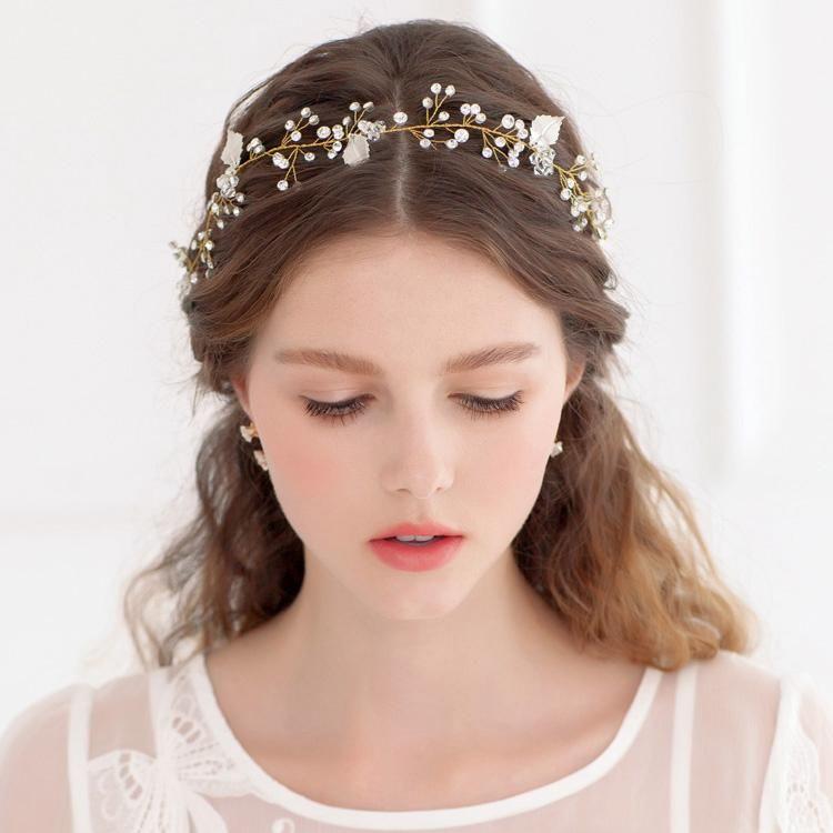 Cc Jewelry Headband For Bridal Crown Hairbands Wedding Hair Accessories Women Party Bride Headwear Fine Jewellery 0012