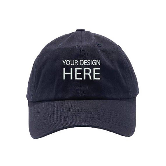 Custom Hat   Black Dad Cap   Personalize your Design   Embroidery Baseball  Cap   Choose Your Text Style   Thread Color   FREE SHIPPING! ca3b796c940