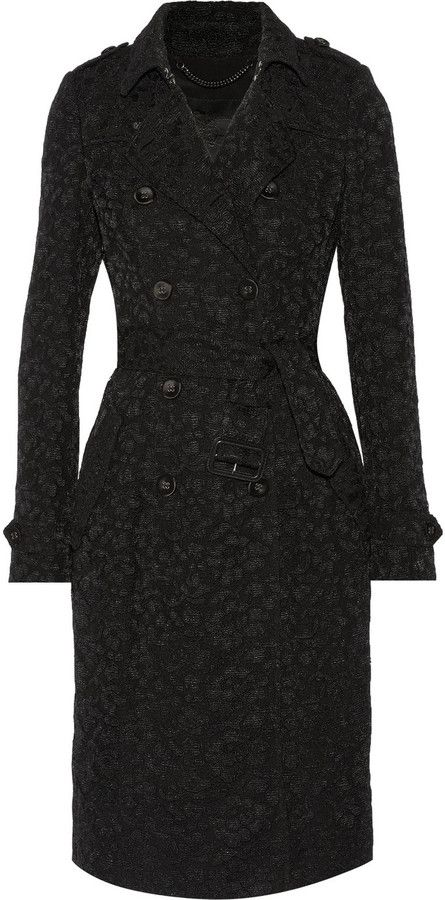 Burberry Lace trench coat on shopstyle.com