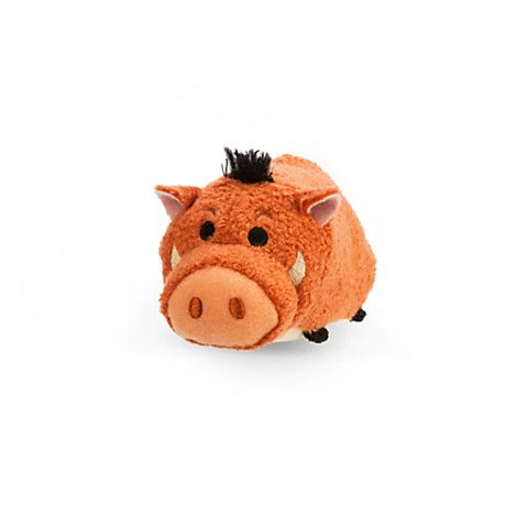 Pumbaa ''Tsum Tsum'' Plush - The Lion King - Mini - 3 1/2''