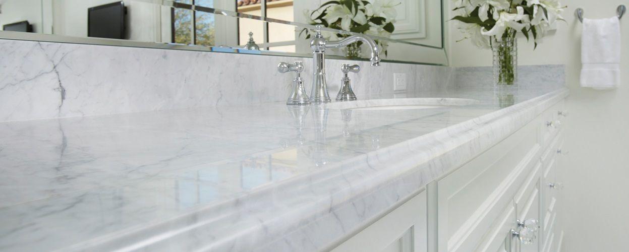 Bianco Carrara Natural Stone Marble Arizona Tile