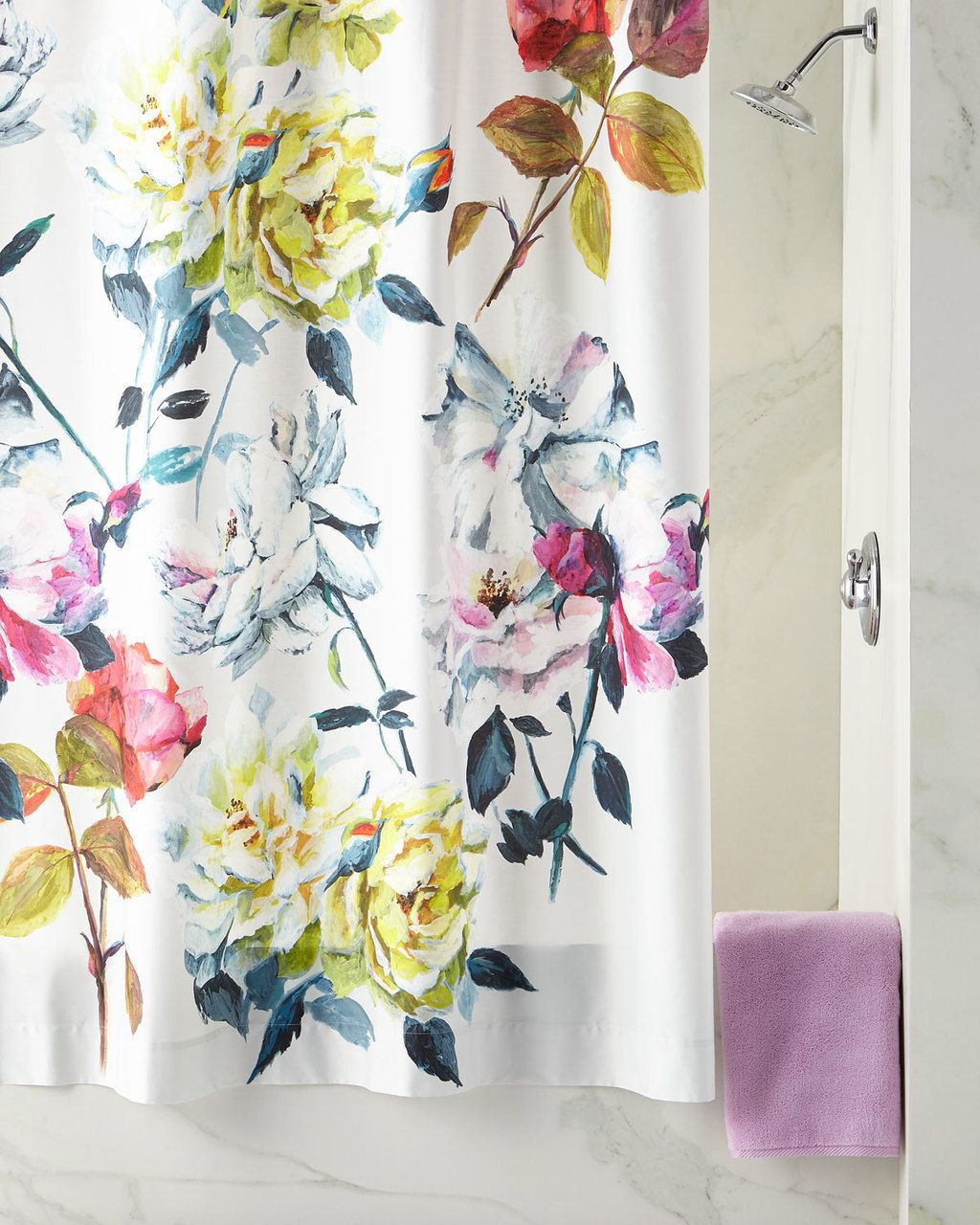 Designers Guild Couture Rose Shower Curtain 99 Free Shipping Or