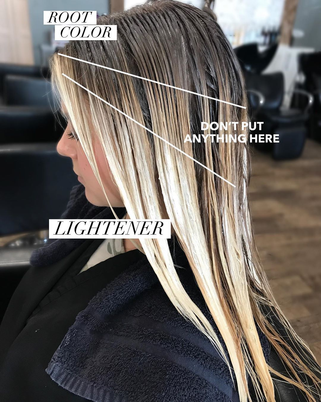 San Diego Hair Stylist On Instagram Want To Avoid Warmth When You Re Root Shadowing Color Melting Hair Color Techniques Color Melting Hair Hair Techniques