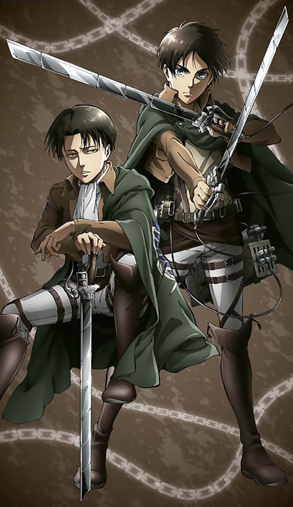 Why is Ereri canon?   - •Official arts #4•