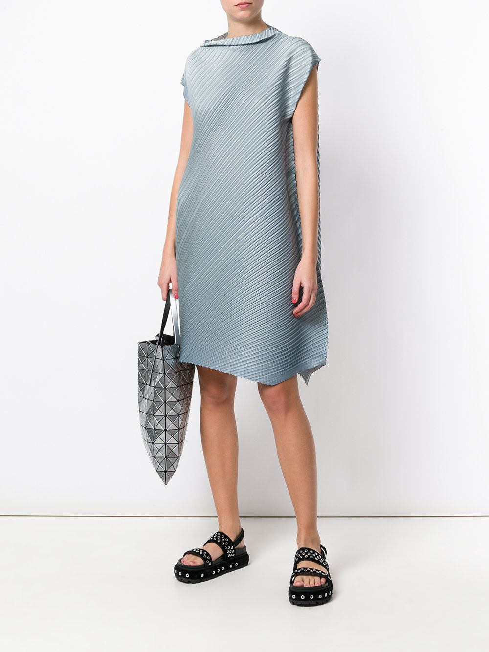 Pleats Please By Issey Miyake Pleated Shift Dress