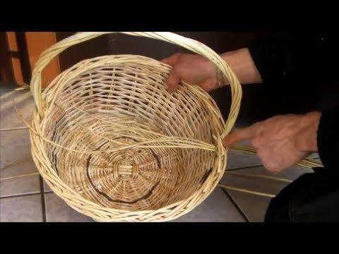 Episode 14 La Anse Alsacienne Comment La Realiser Youtube Anse De Panier Panier Paille Panier Rotin